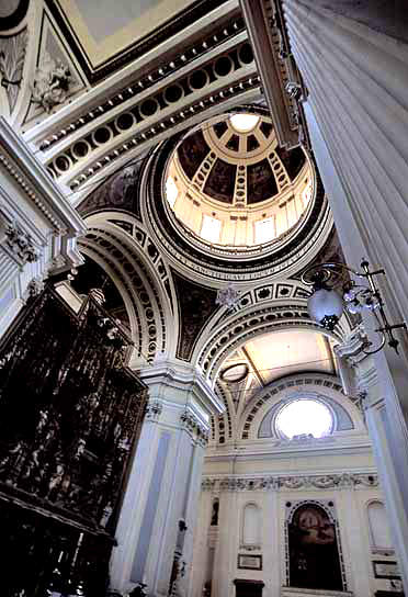 Arches and Ceiling Dome - Basilica of Our Lady