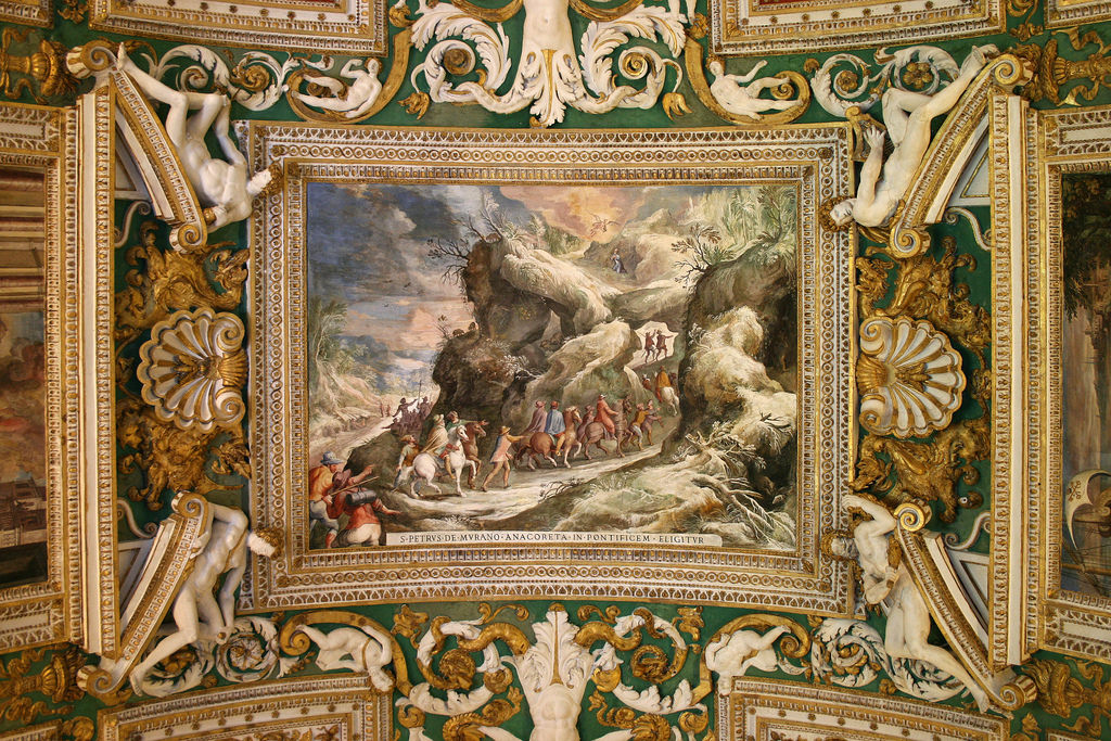 Ceiling Painting at Vatican Museum