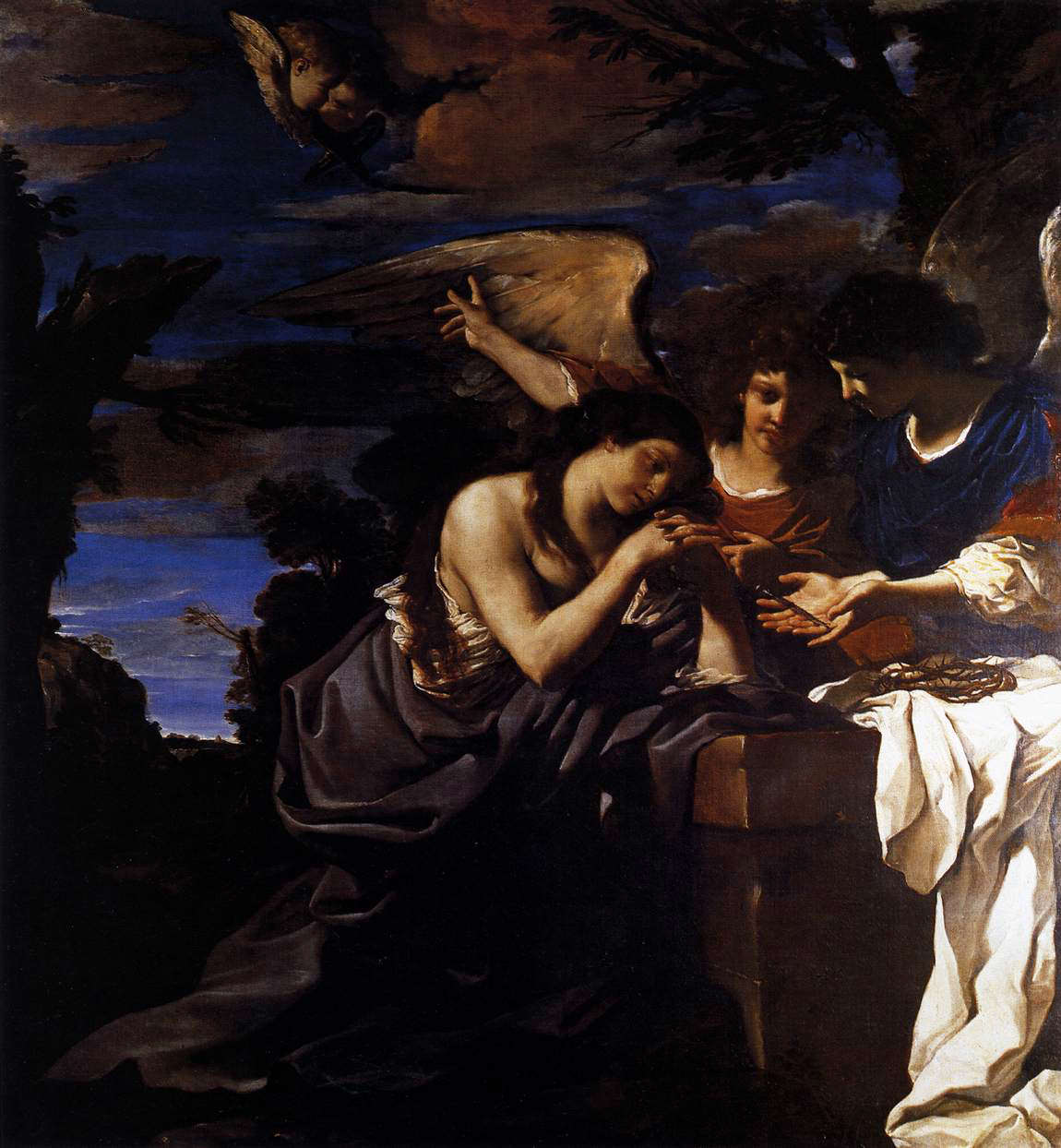 Mary Magdalen and Two Angels