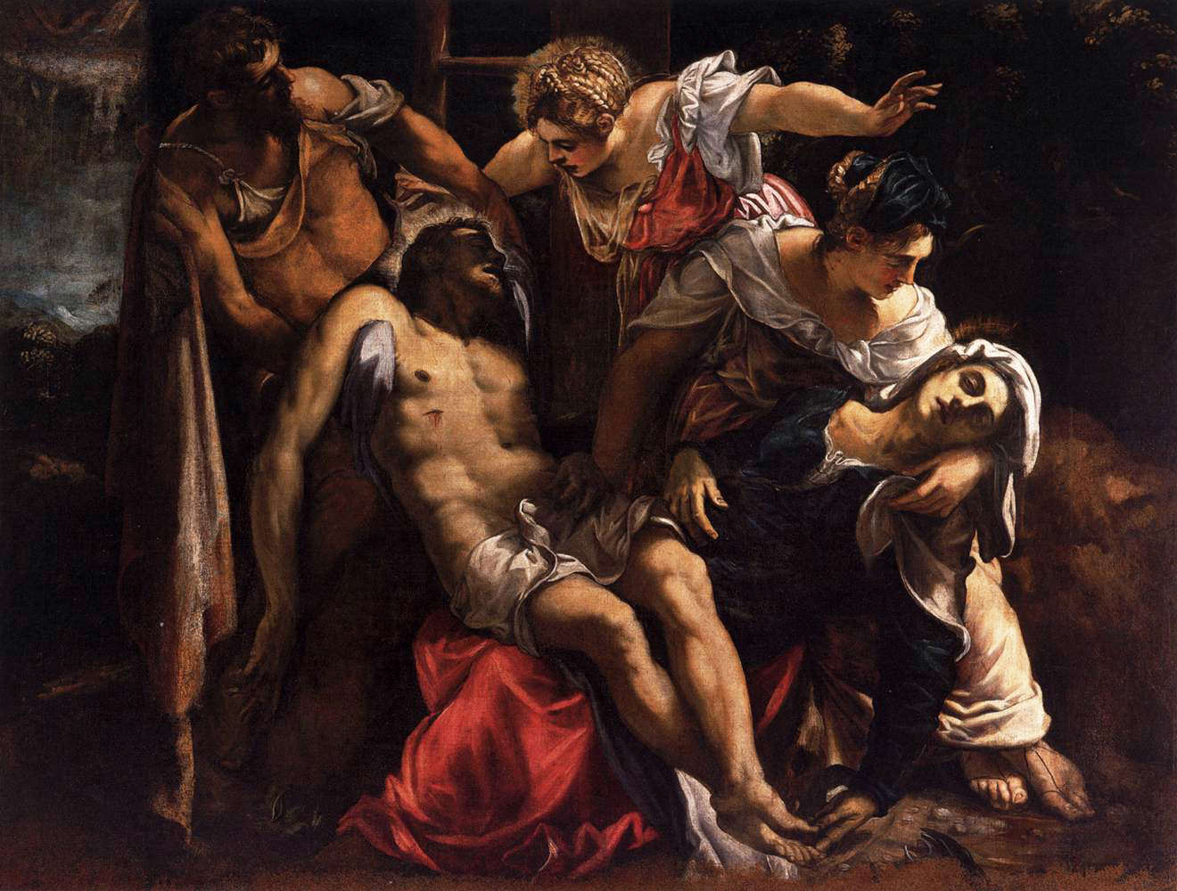 Lamentation over Dead Christ