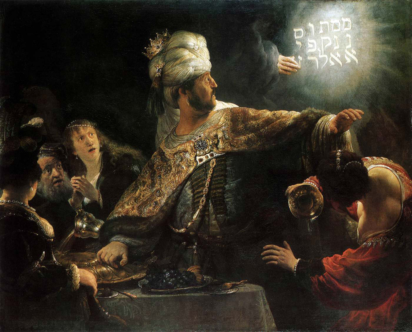 Belshazzar's Feast Writing on the Wall